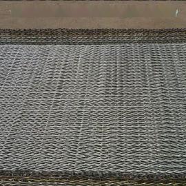 化工颗粒输送人字网带 石油化纤用人字网 饼干生产线 耐高温网带