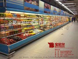石家庄水果超市,保鲜柜风幕柜厂家上门服务