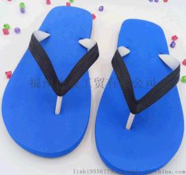 【厂家直销】2017夏季人字拖 拖鞋时尚 简约防滑个性男拖鞋 蓝色