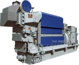 曼MAN生物燃油发电机组(400KW~8, 380KW)