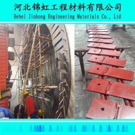 石家庄地铁3号线6.28米盾构机始发洞门密封帘布橡胶板安装施工方法