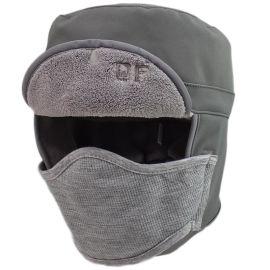 360度防水加厚保暖帽骑车防风头套面罩冬户外抓绒帽子防寒帽男女