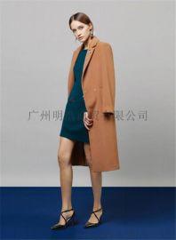 原创设计师17年新款双面呢 品牌女装折扣哪里进货 推荐广州明浩