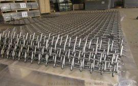 河北安平矿产专用金属丝网轧花网锰钢丝网
