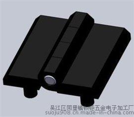 218-9301鋅合金鉸鏈  帶M6螺柱   黑色電泳
