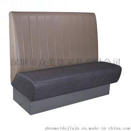 卡座沙發廠家|卡座軟包沙發|餐廳卡座沙發多少錢