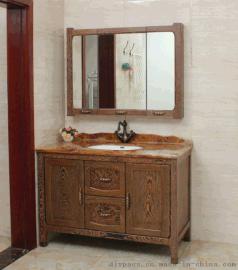 鼎派卫浴DIYPASS  M-6110 鸡翅木定制浴室柜