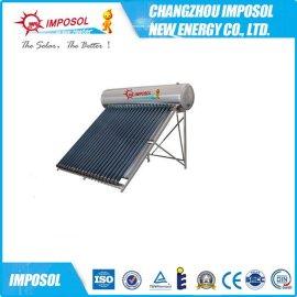 出口品质120L-350一体承压太阳能热水器厂家直销紫金管氩弧焊结