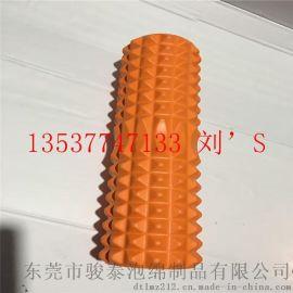 橙色EVA健身瑜伽柱子精选进口环保原材料