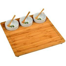 江西托盘哪里定制 日式餐盘 竹制托盘 厨房用品