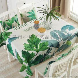 厂家直销棉麻桌布布艺防尘布小圆桌长方形餐桌布盖布茶几盖巾台布