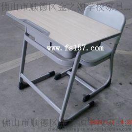 定做700*500注塑封边板 学校招标定做学生课桌椅 工程塑料坐背