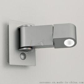 工程定制小壁燈 現代創意可旋轉小壁燈 酒店客房牀頭LED閱讀射燈