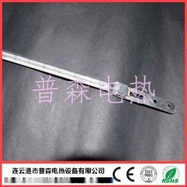 铁片头石英玻璃加热管 金属片导电红外线加热管