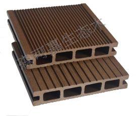 厂家直销防水防滑森可嘉140*25塑木户外栈道栈桥地板
