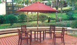 广东专业生产户外桌木套椅 步行街桌木套椅 园林户外桌木套椅