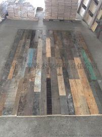 老松木实木地板 旧木地板 15*189*1800mm防潮防滑地板