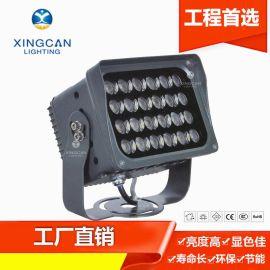新款热卖 LED户外景观亮化照明广告灯 楼体亮化射灯 带遮光罩照树灯 亮化工程投光灯