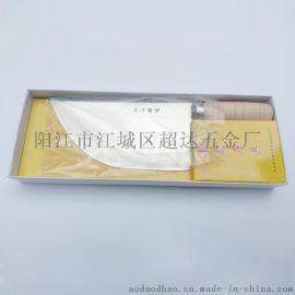 供应阳江菜刀 人工锻打杀猪刀 屠宰切片刀 菜市场专用切肉刀(小号)