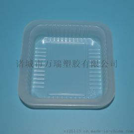 小方盒/10*10食品塑料盒/一次性pp食品內託