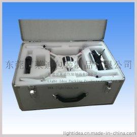 航拍必备铝箱 航模箱 耐摔铝箱 飞行器箱户外包装箱