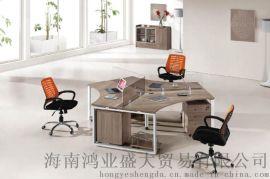 三人组四人组屏风办公桌办公台可定制
