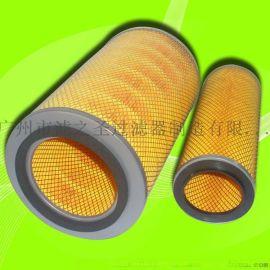 广东除尘专家 K2136除尘滤芯滤筒 汽车风机空气滤芯 空气净化器