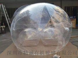 大型亚克力球罩,亚克力防尘罩,亚克力圆球罩