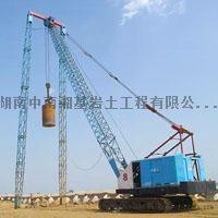 湖南强夯工程哪家好?中南强夯公司采用强夯置换法施工