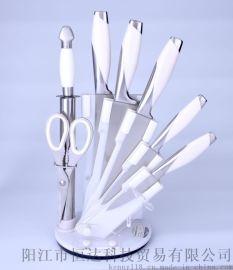 熱銷不鏽鋼廚用刀8件套