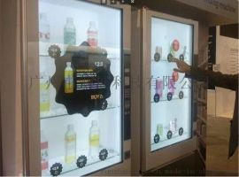 厂家直供 透明屏售货机 透明显示屏贩卖机 透视屏售卖机 广告机