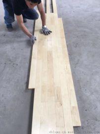全国包工包料定制桦木体育运动木实木地板防滑耐磨篮球馆壁球馆保龄球馆专用地板