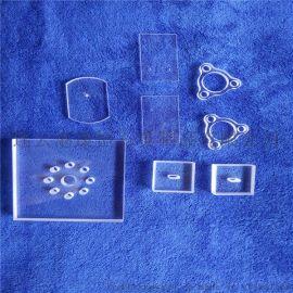 高精度耐高温高纯透明多孔石英玻璃片厂家直销