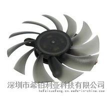 厂家直销透明8010支架显卡散热风扇