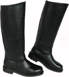 真皮仪仗靴马靴厂家阅兵靴