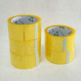 物流快递封箱胶带电商外贸透明胶纸粘性好不易断封箱胶带生产厂家