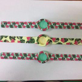 厂家直销 定制图案 硅胶表带、手环 带身可有纹路 也可无纹路