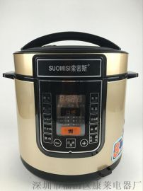 礼品 智能电高压锅 多功能电压力锅5L6L 厂家直销