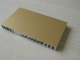 幕墙工程铝蜂窝板制作生产厂家-木纹铝蜂窝板