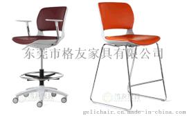 新款办公椅,时尚款会议椅,高脚办公椅,皮面培训椅