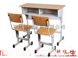 商丘双人课桌椅价格|双人课桌椅厂家|三门峡双人课桌椅规格