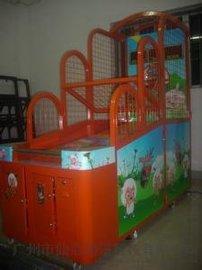 儿童投币篮球机 、电玩娱乐设备游戏机