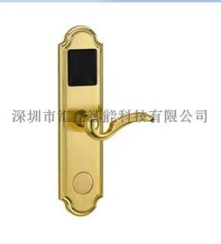 TCP/IP POE联网门锁  感应智能门锁 电子锁 家用刷卡锁 M1一卡通