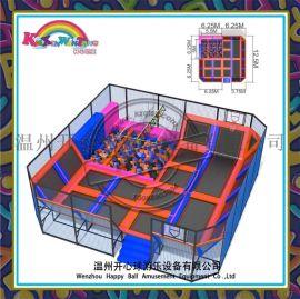 超级大蹦床旋风大蹦床游乐设备蹦床KXQ-047