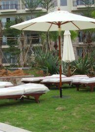 户外广场优质太阳伞 户外公园木中柱伞太阳伞  户外步行街遮阳伞报价