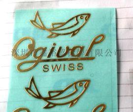 制作供应电铸镍标,金属LOGO标贴,金属不干胶商标,金箔贴字