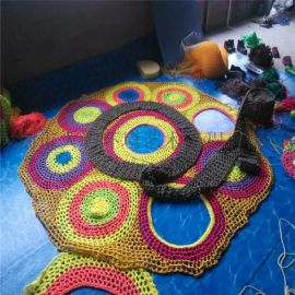 沈阳儿童室内彩虹树攀爬彩虹网设备
