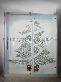 广州·绿A  琥珀玻璃板  LY07