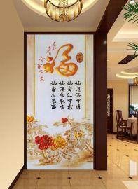 3d背景墙壁画   玄关画uv平板打印机多少钱一台?