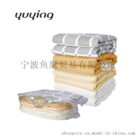 特大号立体3D纯色透明真空压缩袋收纳整理袋批发